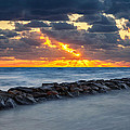 Bayside Sunset by Bill Wakeley