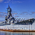 Bb-60 Uss Alabama by Barry Jones
