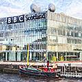 Bbc Scotland Broadcasting Centre Glasgow by Liz Leyden
