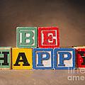 Be Happy - Jabberblocks by Art Whitton