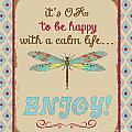 Be Happy by Jean Plout