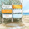 Beach 151 by Veronica Minozzi