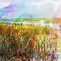 Beach Watercolor 1 by PM Staab