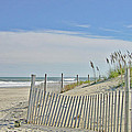 Beach At Outer Banks by M Bleichner