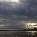 Beach At Sunset by Steve Ball