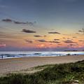 Beach At Twilight by Darren Burton