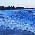 Beach Back Wash by Eric  Schiabor
