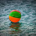 Beach Ball Float by Grace Grogan