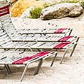 Beach Chairs by Bernard  Barcos