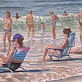 Beach Chairs by Gary M Long
