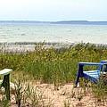 Beach Chairs by Lorraine Paffenroth