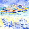 Beach Chairs by Pauline Walsh Jacobson