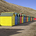 Beach Chalets - Whitby by Rod Johnson