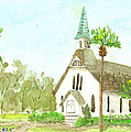 Beach Church by Joyce Tucker
