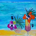 Beach Cocktails by Lyn Olsen
