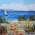 Beach Dunes Summer's End by Karen Tarlton