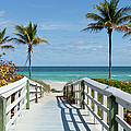 Beach Entrance, Florida by Kubrak78