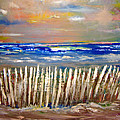 Beach Fence by Patricia Taylor