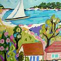 Beach House Island by Karen Fields