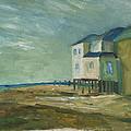 Beach House by Julie Dalton Gourgues