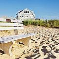 Beach House Sunrise by Jo Ann Snover