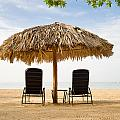 Beach Hut For Two by Ferry Zievinger