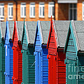 Beach Huts 1 by James Brunker