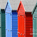 Beach Huts 3 by James Brunker