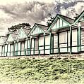 Beach Huts 4 by Steve Purnell