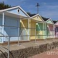 Beach Huts by Emma  Roper