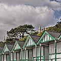 Beach Huts Langland Bay Swansea 3 by Steve Purnell