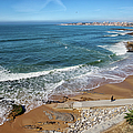 Beach In Resort Town Of Estoril by Artur Bogacki