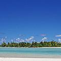 Beach Island In Aitutaki by Jc Imagery