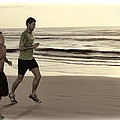 Beach Joggers by Alice Gipson