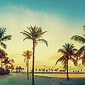 Beach Miami Panorama by Thepalmer