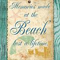 Beach Notes-a by Jean Plout