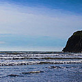 Beach On The Oregon Coast by Cathy Anderson