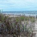 Beach Painting 2 by PM Staab