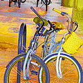 Beach Parking For Bikes by Ben and Raisa Gertsberg