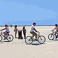 Beach Riders by Nancy Merkle