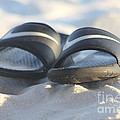 Beach Sandals 2 by Michelle Powell