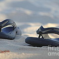 Beach Sandals 3 by Michelle Powell