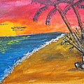 Beach Scene by Catherine Ratliff