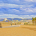 Beach Scene by Chuck Staley