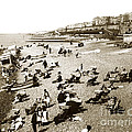 Beach Sean France  Circa 1900 by California Views Archives Mr Pat Hathaway Archives