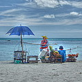Beach Sellers by Michelle Meenawong