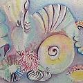 Beach Shack And Sea Shells 1.3 by Cheryl Miller