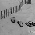 Beach Shoes by Michelle Powell