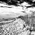 Beach Side Cape May by John Rizzuto