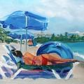 Beach Siesta by Donna Tuten